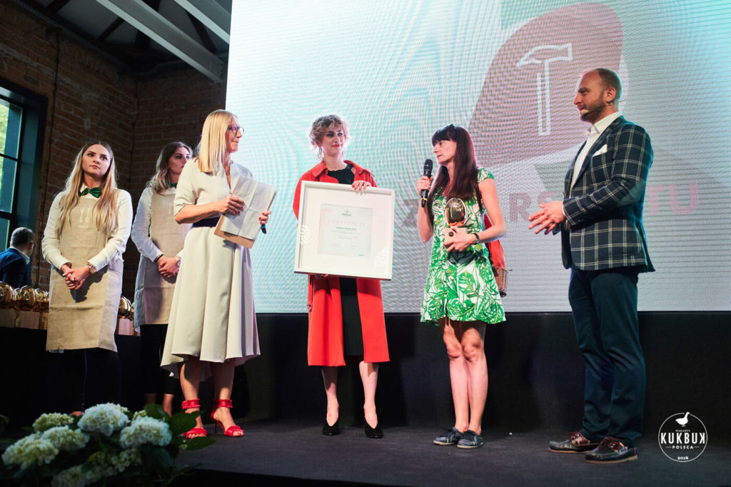 Nagroda Kukbuk Poleca dla Serfenty