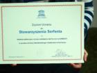 Dyplom UNESCO dla Serfenty