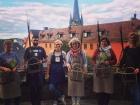 Warsztaty wyplatania kosza kabłącoka Korbmarkt Lichtenfels